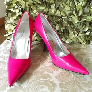Chinese Laundry Spicy Pink Stiletto Heels
